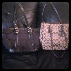 Authentic Coach Handbag Bundle
